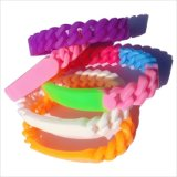 Kundenspezifisches Silikonwristband-Großverkauf-Gummi-Armband