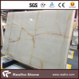 Big Stone Slab Snow White Onyx
