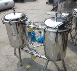 Filtro do filtro do duplex do aço inoxidável para o suco