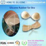 Gel líquido seguro do silicone da pele para o sutiã do silicone da manufatura