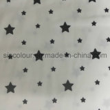 88%Polyester 12%Spandex Stars a tela da impressão para o Swimwear