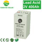 2V Koreaanse Batterij van uitstekende kwaliteit van de Cyclus van 400ah de Diepe