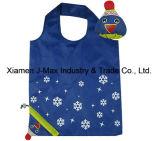 Saco Foldable do cliente, estilo do palhaço, reusável, de pouco peso, promoção, sacos de mantimento e acessível, presentes, decoração & acessórios, saco de Tote