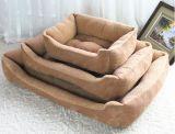 Drei Größenberber-Vlies-Gewebe-Haustier-Bett für Hund