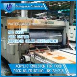 Emulsión de acrílico a base de agua para la tinta de papel