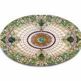 Cupola vivente rotonda mezza fatta a mano di vetro macchiato della decorazione della struttura di Morden