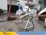 Bouilloire revêtue en acier de Stainlstss faisant cuire la bouilloire 300liter