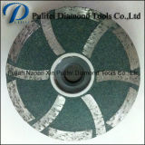 Roue de marbre de meulage de cuvette d'étage de pierre de granit concret de meule diamant