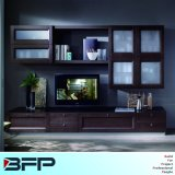 Elegant European Style Wood TV Cabinet