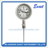 Thermomètre bimétallique de Mesurer-Ménage bimétallique industriel de la Thermomètre-Température