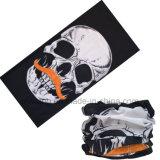 Многофункциональные Bandanas маски черепа печатание логоса велосипедиста подгонянные Microfiber