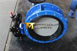 Dobule는 벨브 플랜지를 붙인다 나일론에 의하여 입힌 디스크 (D41X-10/16)를 가진 나비