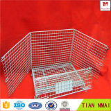 Galvanisé Net Container / Steel Wire Mesh Cage