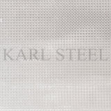 Edelstahl-silberne Farbe geprägtes Blatt Kem007 für Dekoration-Materialien