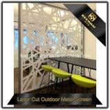 Tela de partição de sala de restaurante em aço inoxidável de metal