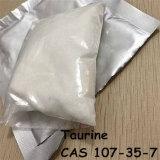 Taurino CAS 107-35-7 del polvo de la hormona del realce de la nutrición de los deportes