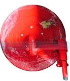 Вьюрок пожарного рукава с латунными соплом и соединением