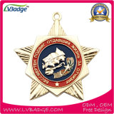 Медаль сувенира изготовленный на заказ спорта пожалования идущее