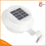 3 der LED-im Freienbeleuchtung-automatisches Fühler-Gang-Wand-Dach-Patio-Rasen-Dachgesims-Zaun-Eingangs-Garten-der Lampen-imprägniern Solarlicht LED