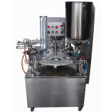 コーヒークリームのコップの詰物およびシーリング機械