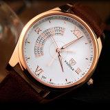 337 Quarz-Uhr-Mann-Form-Armbanduhr-wasserdichte Qualität