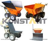 Затяжелитель колеса строительного оборудования 300kgs малый передний миниый