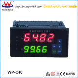Controladores inteligentes de temperatura de LCD digital com display duplo