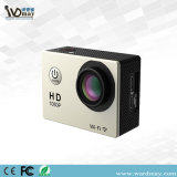 2017 nueva mini cámara impermeable de la acción de WiFi 4k HD de la cámara