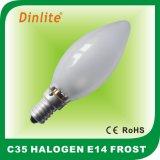 Lampada alogena pratica e poco costosa di C35 E14 110-240V