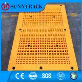 Doppelte seitliche Ineinander greifen-Oberfläche HDPE Plastikhochleistungsladeplatte