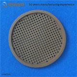 FKM heißer Verkaufs-Silikon-Gummi-Endstöpsel-flacher runder Filter