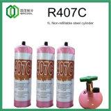 Alta pureza, gás refrigerante misturado baseado em Hfc (R407C)
