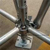 중국 공장 Q345 강철에 의하여 시험되는 Ringlock 비계 시스템