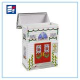Caja de regalo de papel de alta calidad personalizado para el embalaje portátil
