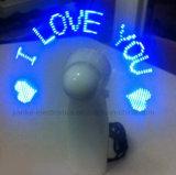 인쇄되는 로고를 가진 LED 매트릭스 소형 프로그램 소형 팬 (3509)