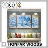 Multi decorazione della parete della cornice di stampa della tela di canapa di arte del fiore