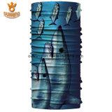 卸し売りマルチ機能カスタム魚によって印刷される継ぎ目が無い管のバンダナ