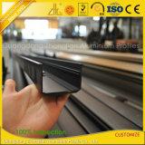 Schwarzes oder Silber anodisiertes Aluminiumu-Profil für Furtures Dekoration