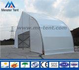 テニスコートのための大きいモモの形のカーブのテント