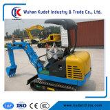 Mini máquina escavadora da esteira rolante 1700 quilogramas com o motor de Japão Yanmar e a cubeta 0.04m3