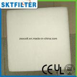 Media de filtro sintetizados lavables del poliester rodillo o pista