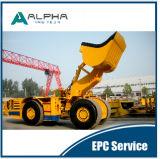 Alhd6 caricatore trasportatore ribaltabile utilizzato largo LHD
