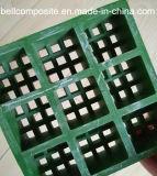 Rejas de la fibra de vidrio, FRP/GRP con las rejas de la alta calidad