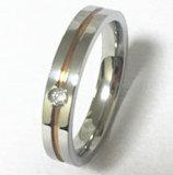مجوهرات نمط [هيغقوليتي] [كز] [ستينلسّ ستيل] حلقة ([كزر2525])