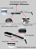 Peine caliente de la enderezadora del pelo del cepillo de la enderezadora rápida del pelo