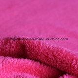 ゆがみの二重側面が付いている編む珊瑚の羊毛ファブリック