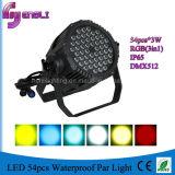 le lavage extérieur multi classique DJ de 54PCS*3W RGB* DEL PAR la lumière (HL-033)