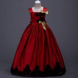 5 لون جديدة [فلوور جرل] ثوب حزب [بروم] أميرة [بجنت] [بريدسميد] [ودّينغس] [فلوور جرل] ثياب أطفال ثوب بنت ثوب