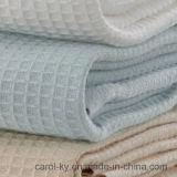 綿のワッフルの浴室タオル