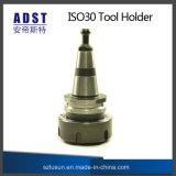 Sostenedor de herramienta de la tirada de cerco de la máquina ISO30 de la carpintería del CNC